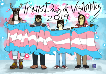 Trans Day of Visibility 2019!