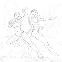 Bandit twins [RobotJoe GIFTART]