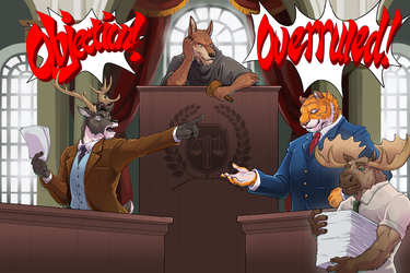 Courtroom Showdown : Making a Case (Lawrence)
