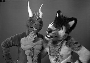 Dragon (Coffee) and Wolf