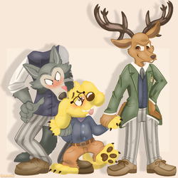 Legoshi, Monty And Louis