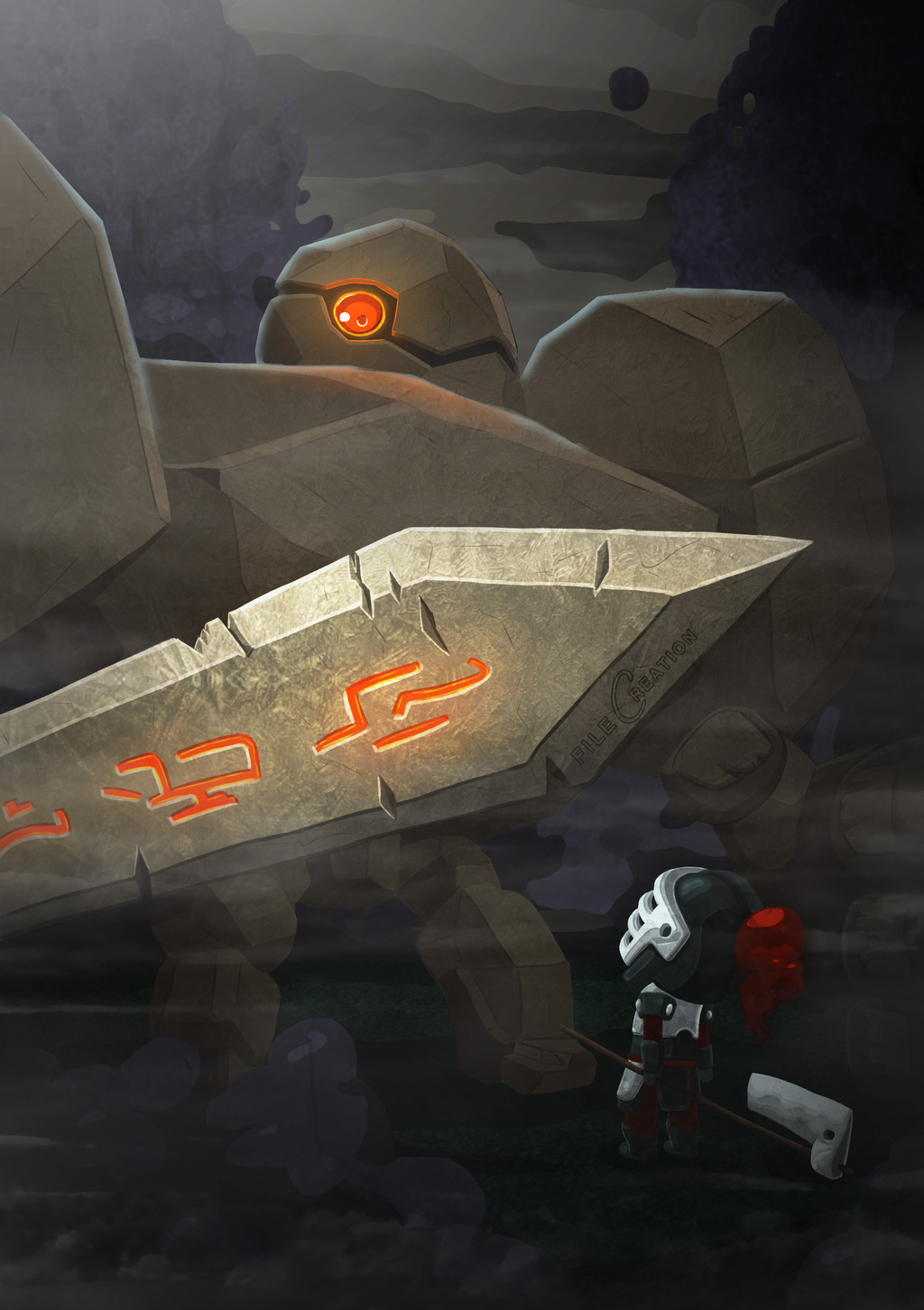 Most recent image: The Golem