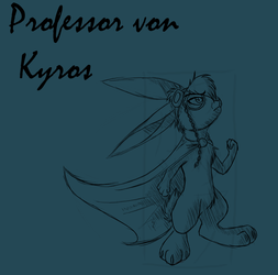 Professor Von Kyros : Lineart