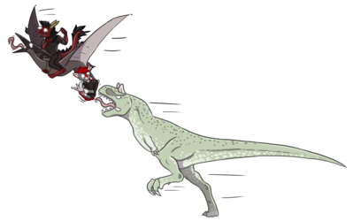 Taming Carnotaurus