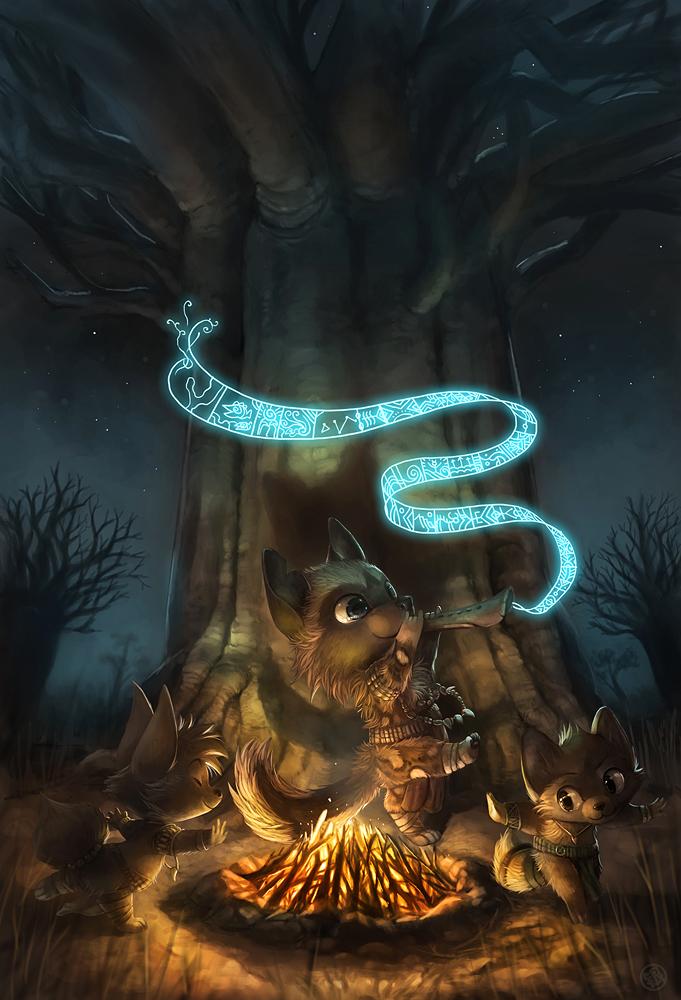 'A Little Night Music' by Silverfox