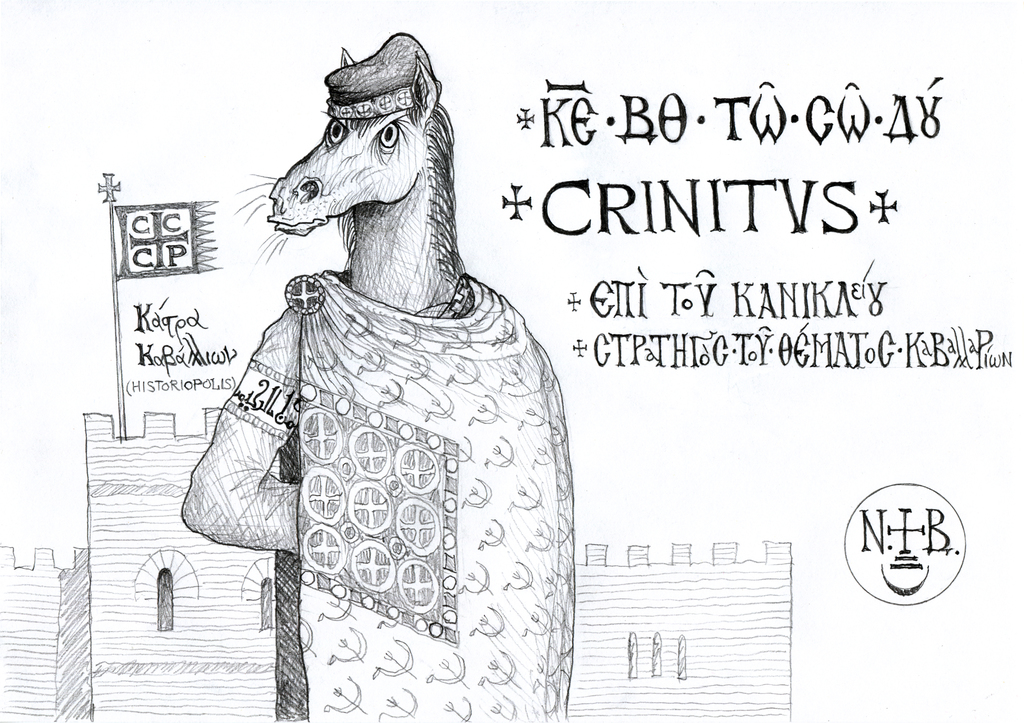 Crinitus, epi tou kanikleiou, strategos of the Kavallaroi