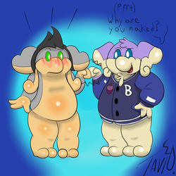 (Commission)Dripsie and Maurice Fist-Bump