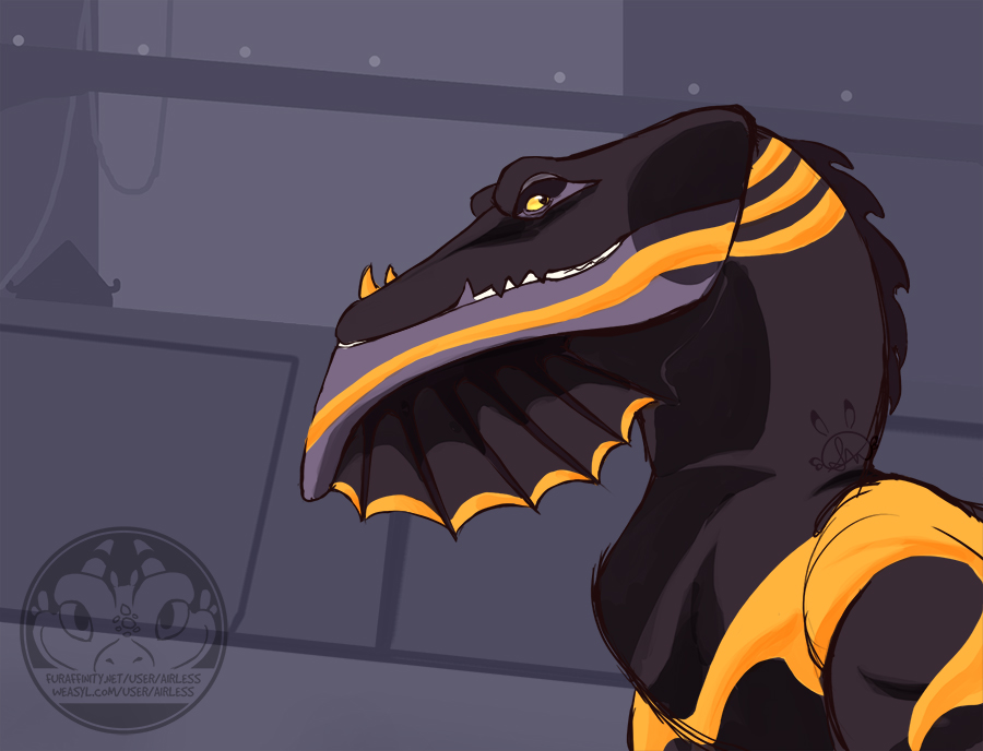 The Black and Gold Dragon of Legend
