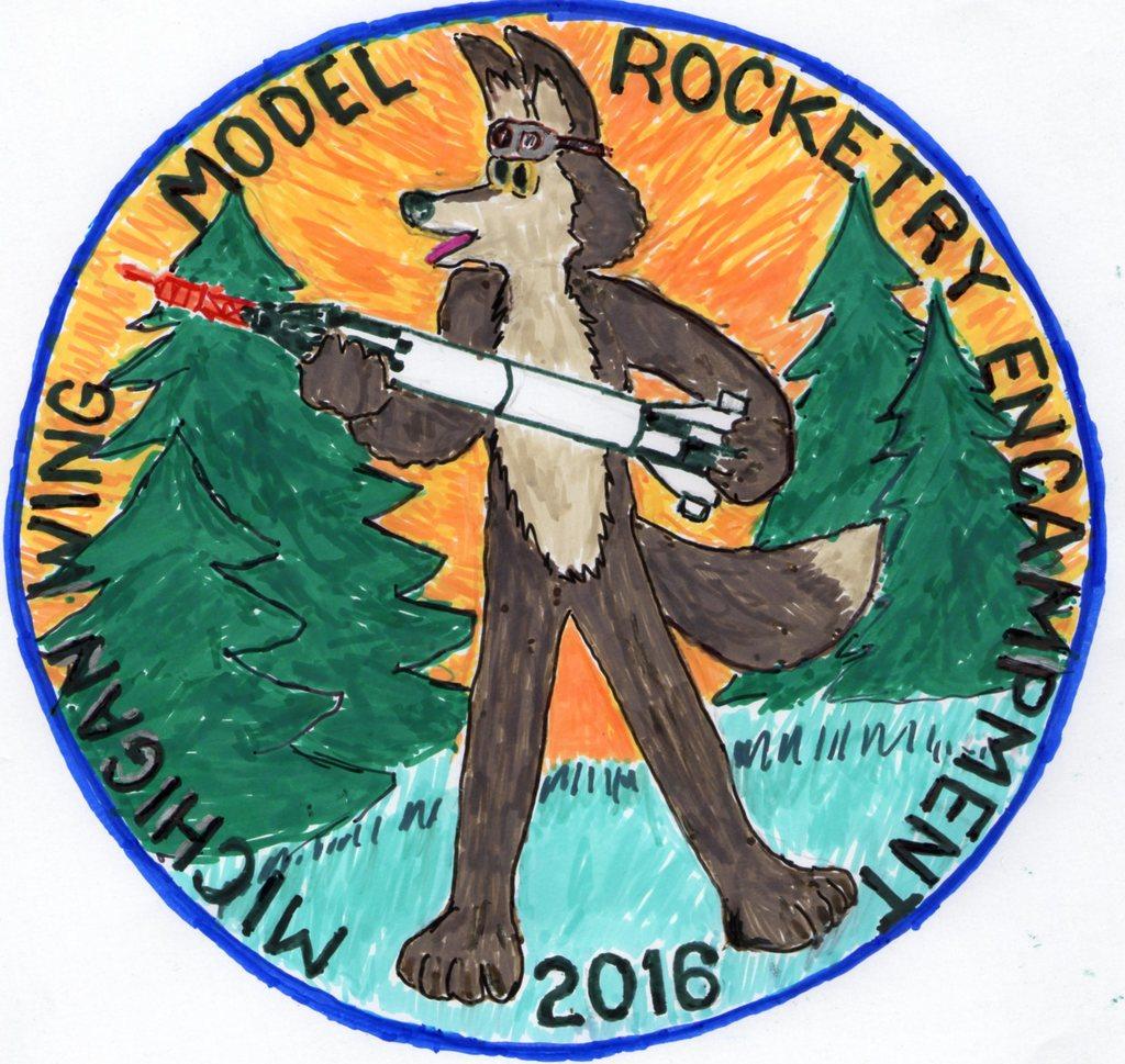 Model Rocketry Flight Emblem