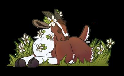 Spring Time Goat