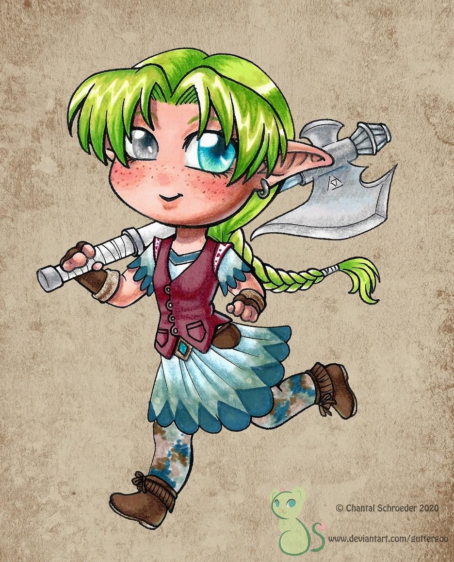 The Tiniest Adventurer