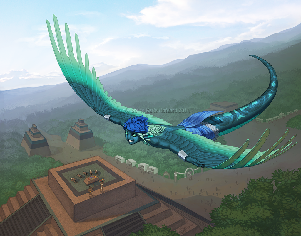 Soaring Over Home