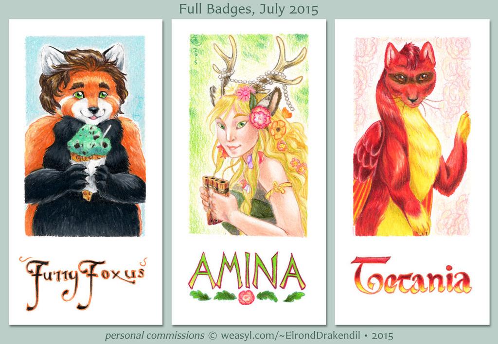 Full Badges - July 2015