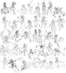Sketch Commission Parade (large file)