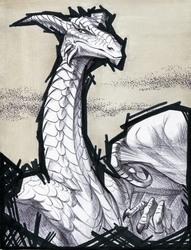 Inktober #9: Imperious
