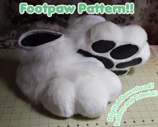 New Pattern & Tutorial! Plantigrade Footpaws