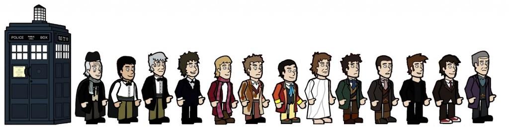 all thirteen doctors regeneration