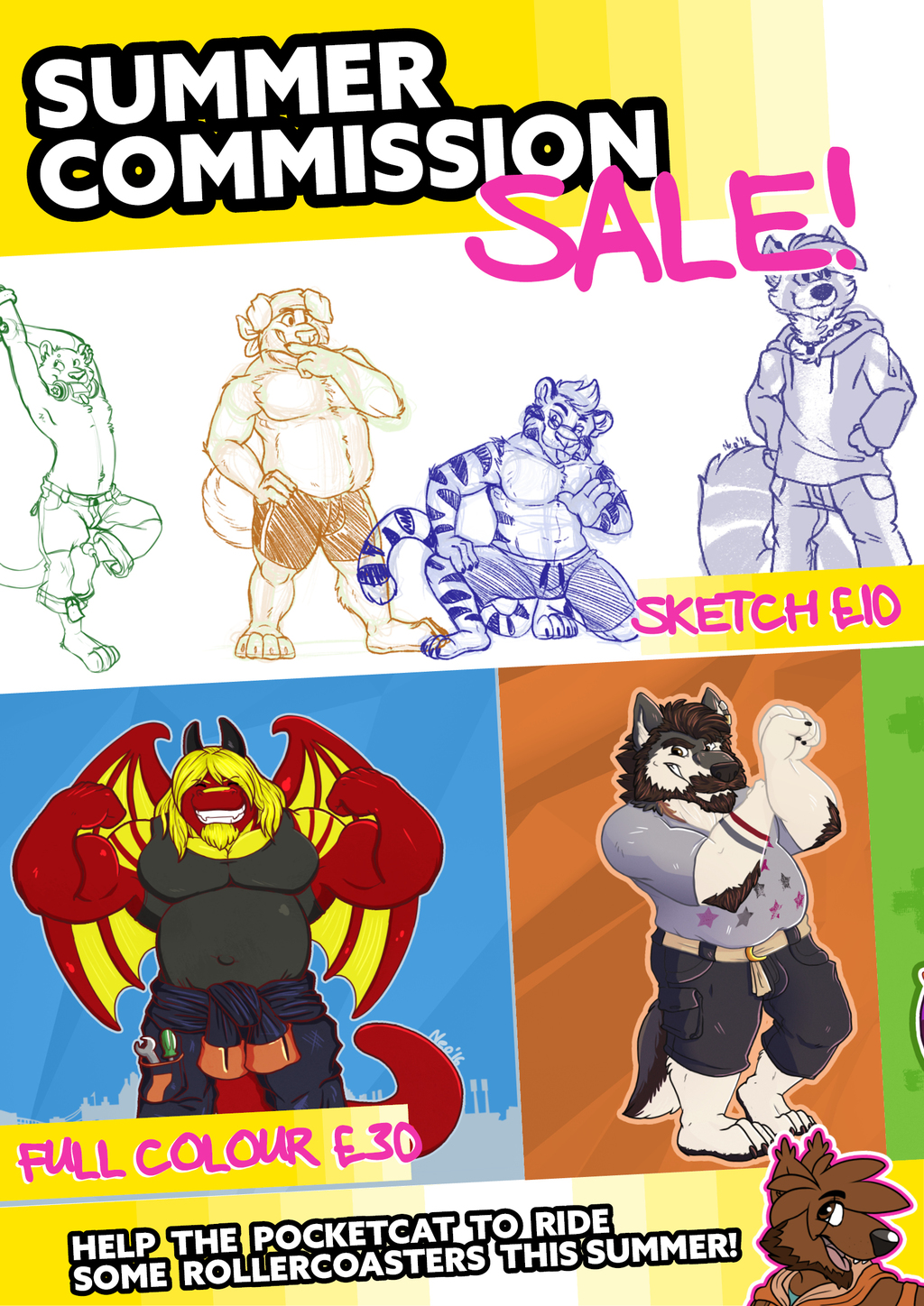 Summer Commission Sale NOW OPEN!