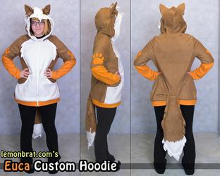 Euca the cat custom hoodie!