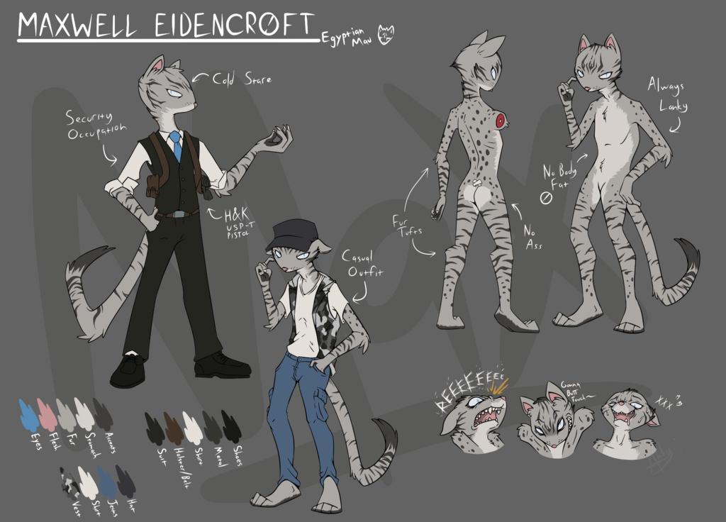 Maxwell Eidencroft - Reference