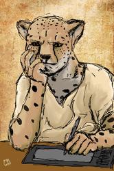 Quick Sketch - Cheetah