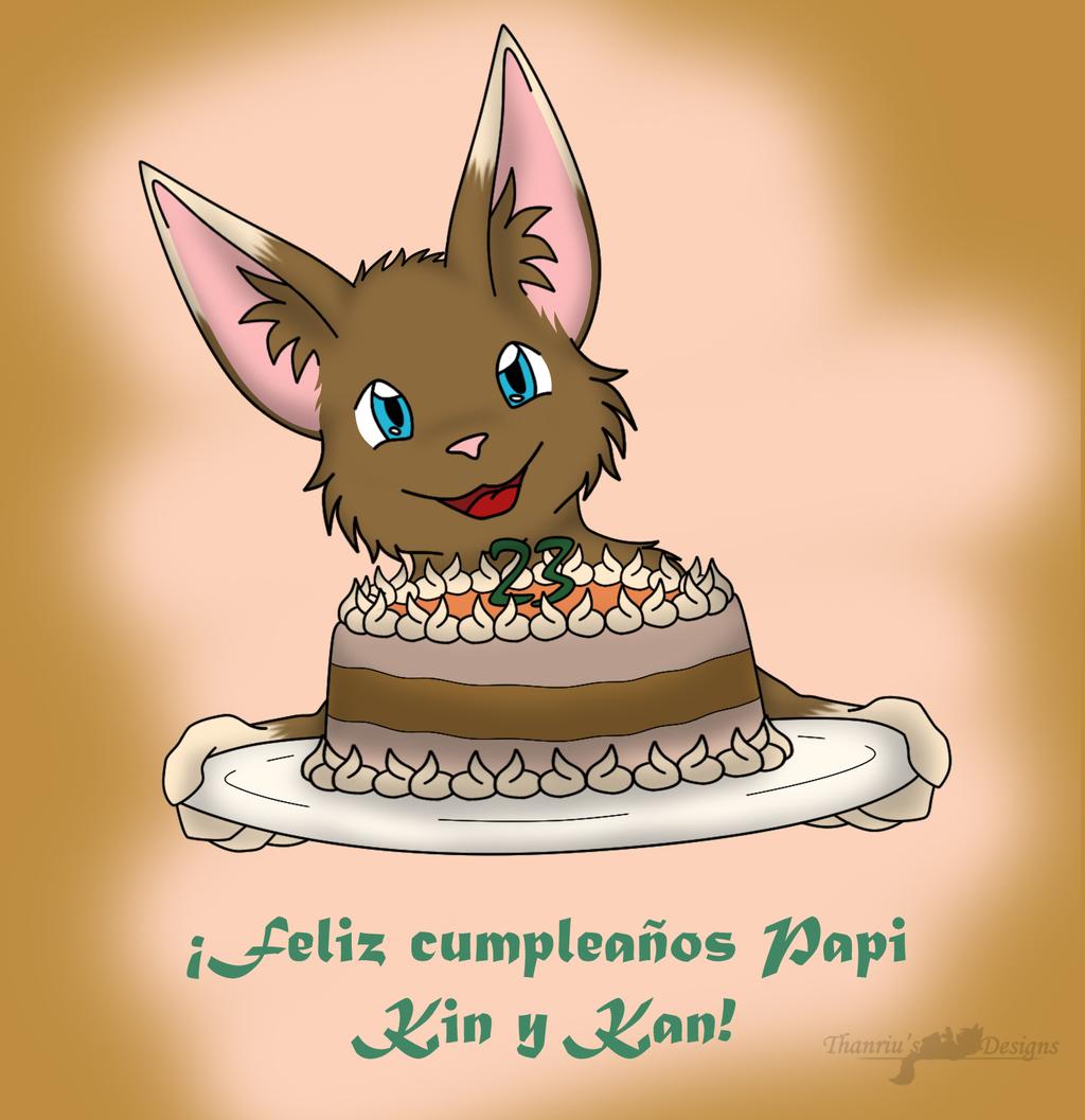 Happy Birthday Kin-Kan!~ <3