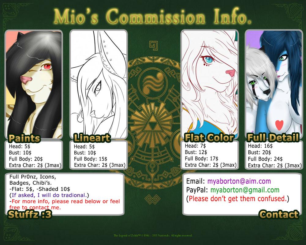 Mio's 2013 Commission Info