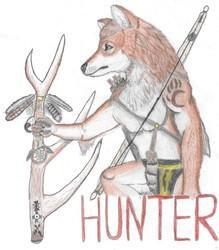 Hunter Traditional Badge