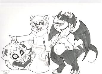 FWA Take HOME - Devilman cosplay Koze Jeri and Raynor