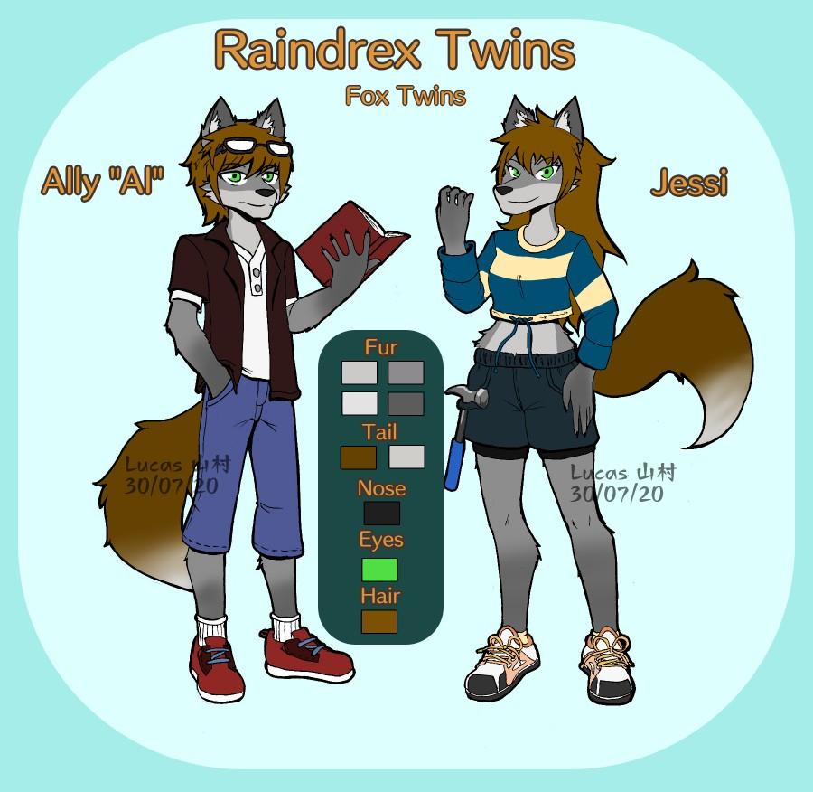Comm - Raindrex twins ref