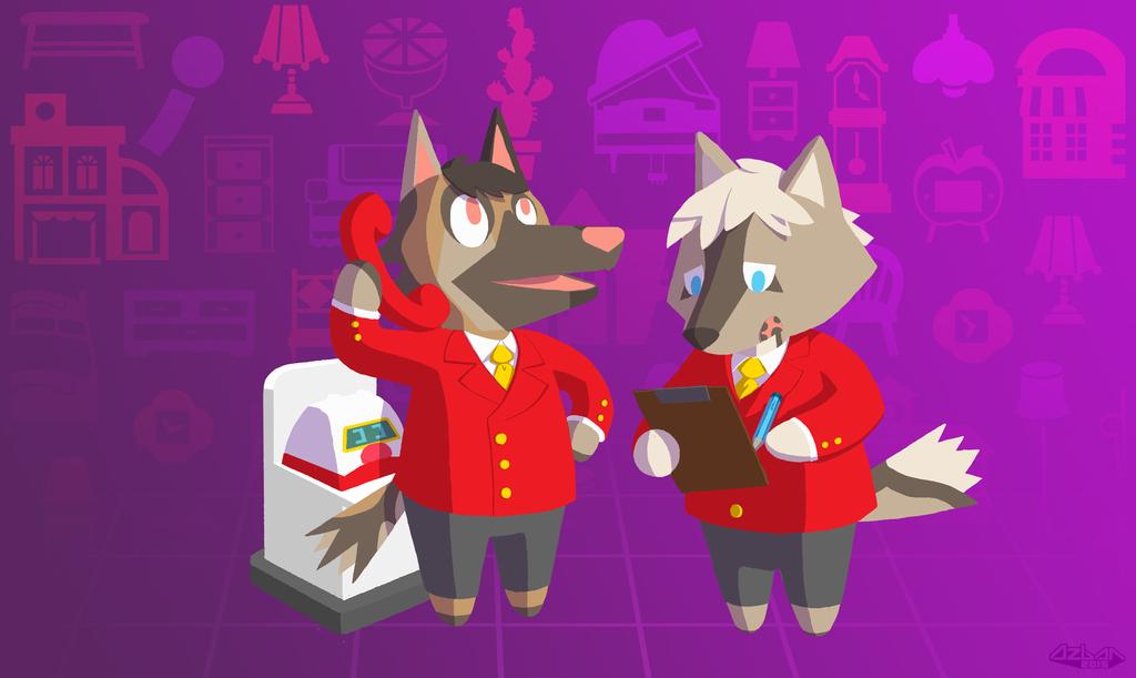 Animal Crossing - Cecil & Nicholas