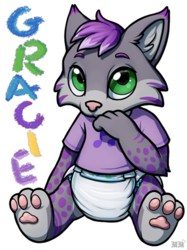 Gracie Ridicudorable Badge