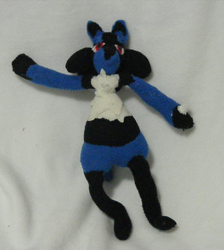 Lucario Doll/Plush