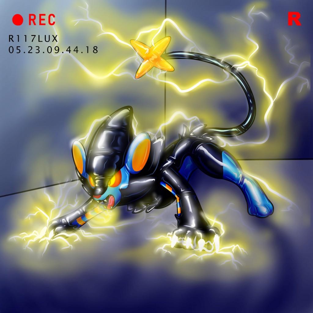 The Double R experiment - Luxray (part 2)