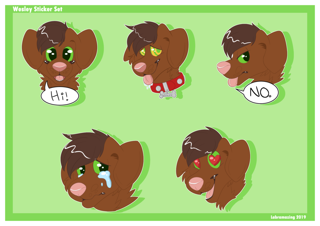 wesley telegram stickers
