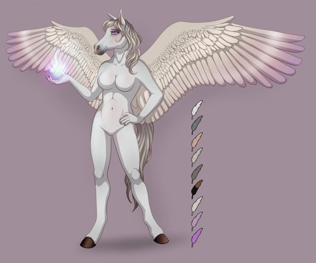 New pegasus character