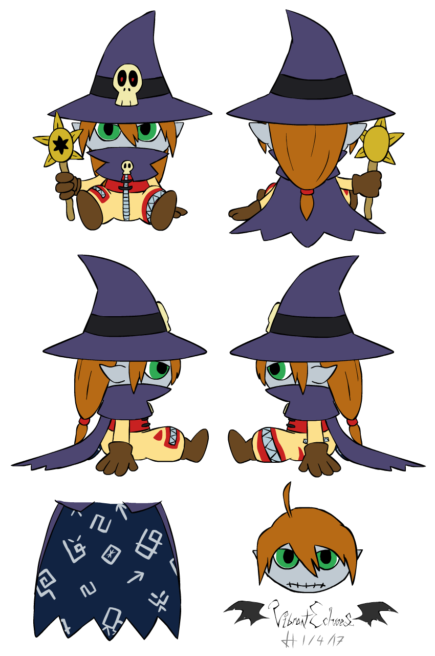 Wizardmon Plush Design