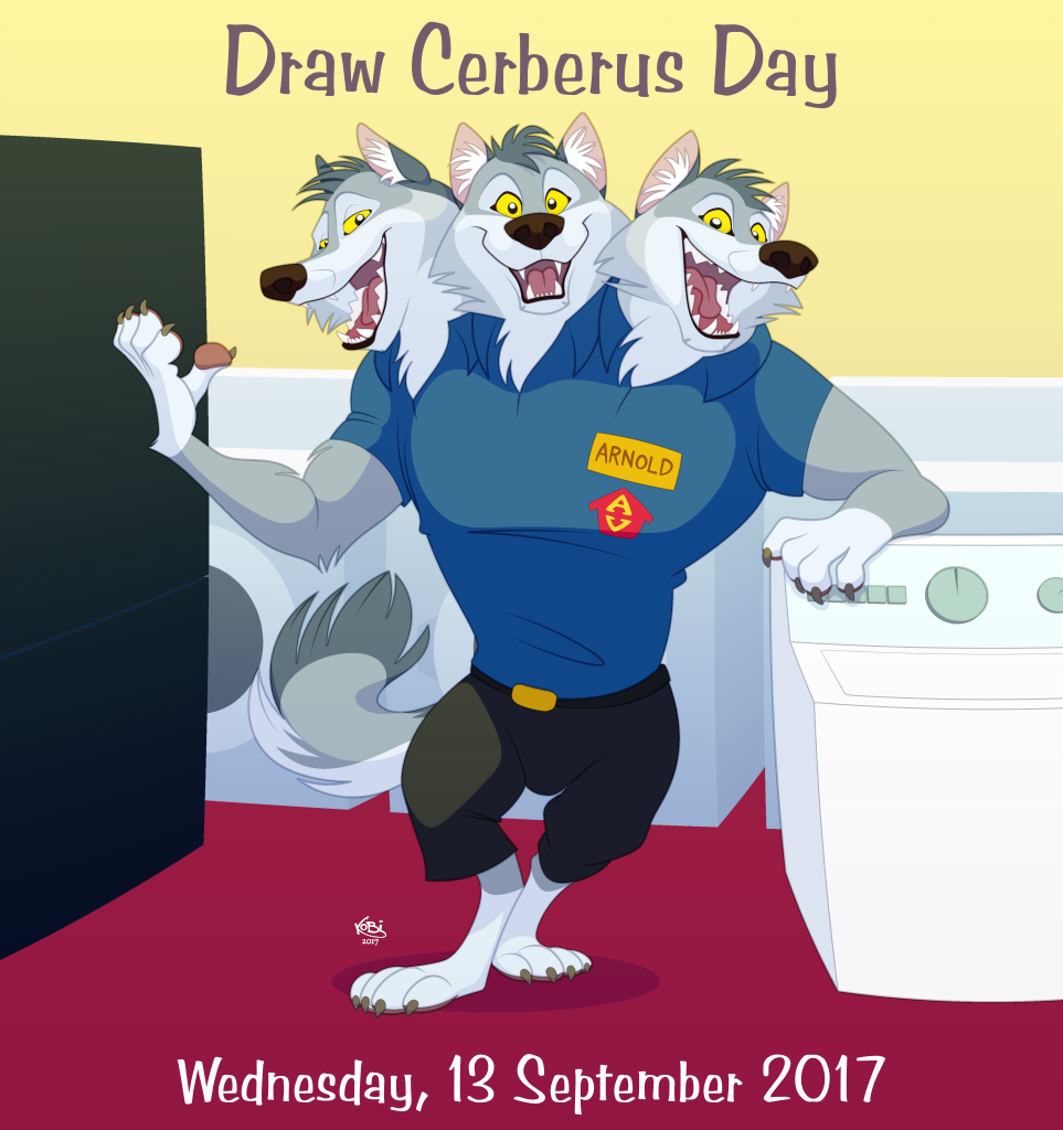 Draw Cerberus Day 2017