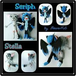Stella and Seriph String Dolls