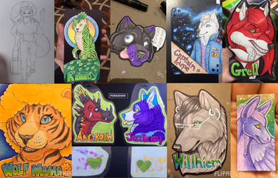 Furthemore commission collage