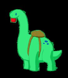Back to School Apatosaurus