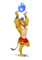 [COM] Harness and Balance the Lion Spirit