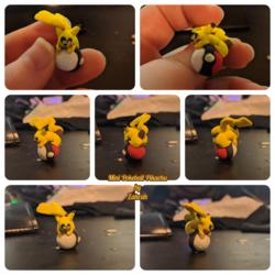 [Fanart] Itty Bitty Pokeball Pikachu