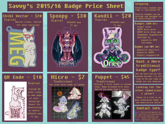 Badge Commissions are Open