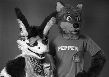 Dragon Cat and Pepper