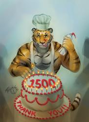 I baked you a cake!
