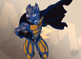 Noble Wolf! (Commission Art)