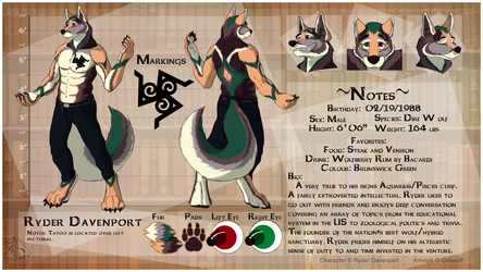 [CM - Ryder Davenport] Detailed Character Sheet