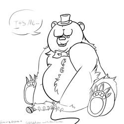 Golden freddy wip