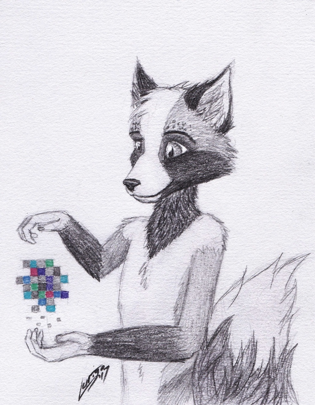 [AT] Pixelmancer (For FoxByTheFoot)